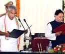 Chandy cabinet sworn in