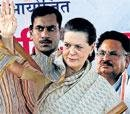 Sonia trains guns at Mayawati