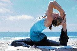 Yoga helps beat cancer blues