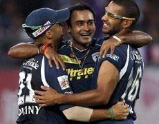 Mishra bags hat-trick as Deccans dash Punjab's play-off hopes