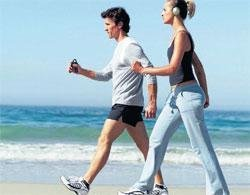 A A brisk walk may prevent onset of prostate cancer