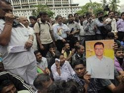 Journalist killing: Mediapersons hold rally to mark protest