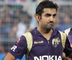Gambhir defends playing IPL play-off despite injury
