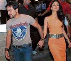 Saif denies Kareena break-up rumour