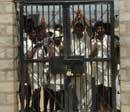 Five jail staff suspended for letting convicts 'roam free'