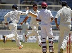 India beat West Indies by 63 runs, lead series 1-0