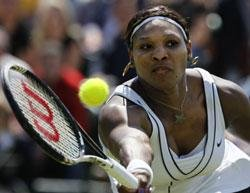 Serena in sexism row after showcourt snub