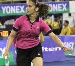 Saina enters semifinals
