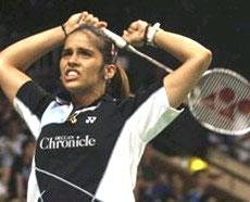 Pumped-up Saina in final of Indonesian Open