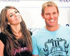It was love at first sight with Warne, says Hurley