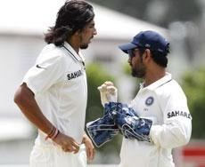 Rain plays spoilsport on 2nd day after Ishant's double strike