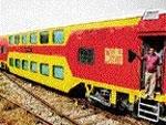 AC double-decker train for Jaipur