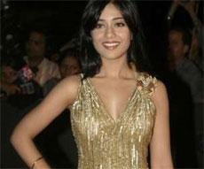 Proud vegetarian Amrita Rao poses for PETA