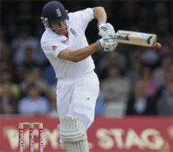 England 217/3 at lunch on day two