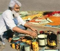 At long last, Husain comes to Delhi
