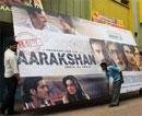Despite protests in Banglore, 'Aarakshan' attracts audience