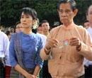 Myanmar's Suu Kyi tests freedom, meets supporters