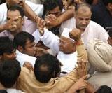 Anna Hazare detained