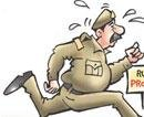 Rajasthan top cop is fugitive from the law