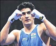 Vijender, Akhil in Indian team for World Championships