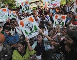 Anti-corruption protests in India an internal matter: US