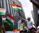 Thousands of Indian-Americans gather at NY India Day parade
