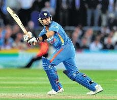 Virat, Munaf spit fire to take India past Kent