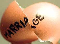 Couples seeking divorces for falling out of love
