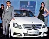 Mercedes launches new C-class in City