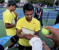 Paes-Bhupathi out of doubles