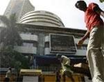 Sensex closes 57 points up amid volatile trading