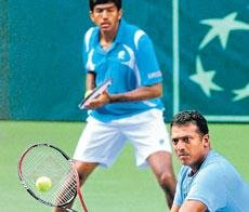 India fight back with doubles victory