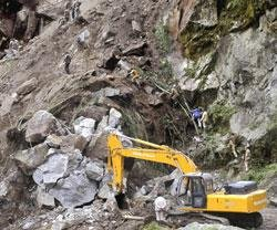 Places near quake epicentre still out of reach in Sikkim