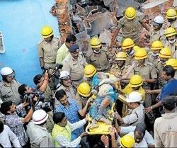 Girl killed, 10 injured in suspected LPG blasts