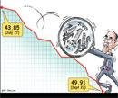 Falling rupee adds fuel to India's crisis
