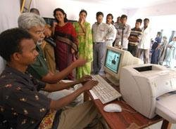 Voter's I-card a click of the mouse away