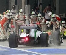 F1 management has shown how to organise a big event