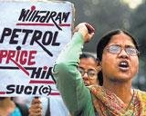 Petrol fire singes govt