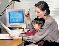 Working women have unhealthy children, says survey