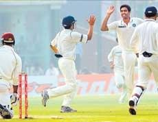 Indians inch closer to victory