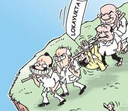 Lokayukta has become a thorn in BJP flesh