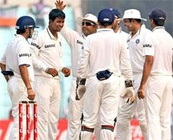 India take eight wickets in single session to bowl out Windies