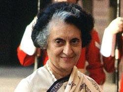 When Indira's birth drew long faces!