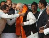 His 'yatra' over, Advani calls for UPA's ouster