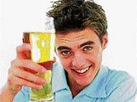 Cheers! Beer is good for heart