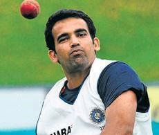 Provisional selection of Zaheer for Australia tour