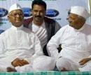 Involve corporates to develop villages: Hazare