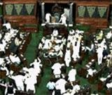 Lok Sabha loses four hours, Rs.1 crore, on day one