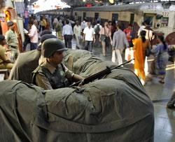 At CST, 26/11 heroes still do their duty