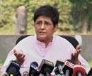 Double whammy for Bedi: court orders FIR against her, rejects her probe plea